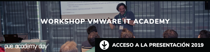 Workshop VMware IT Academy