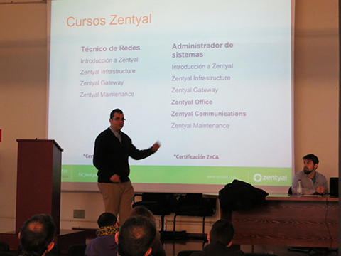 Evento Zentyal
